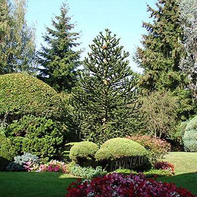 amenagement jardins tour en sologne